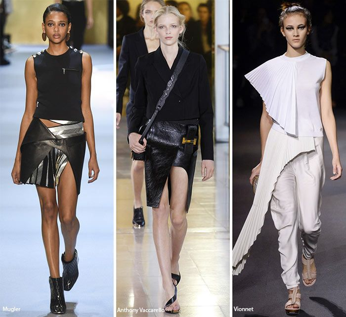 Spring/ Summer 2016 Fashion Trends: Knifed-Up Pieces  #trends #fashiontrends