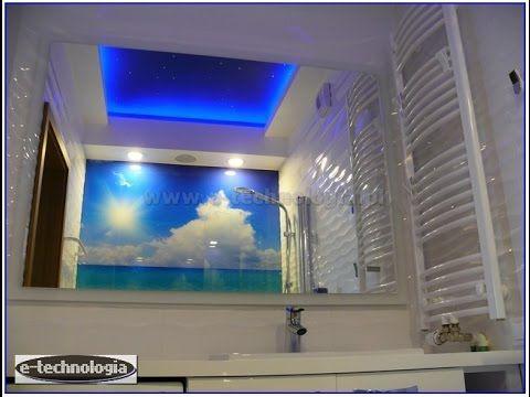 Łazienki - Pomysły - Aranżacje - Oświetlenie - Lampy - Wystrój - Łazienka