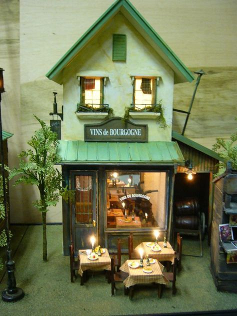 El mundo mini de Pilar: Casitas de Toshio Honzawa