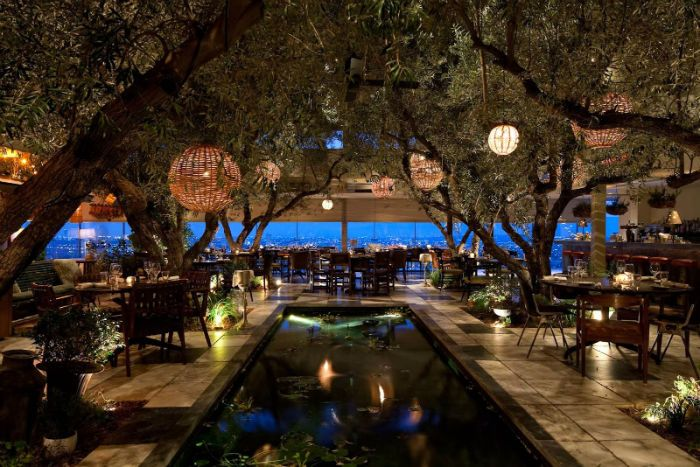 Soho House in West Hollywood, California.35 Most Amazing Restaurants With A View.