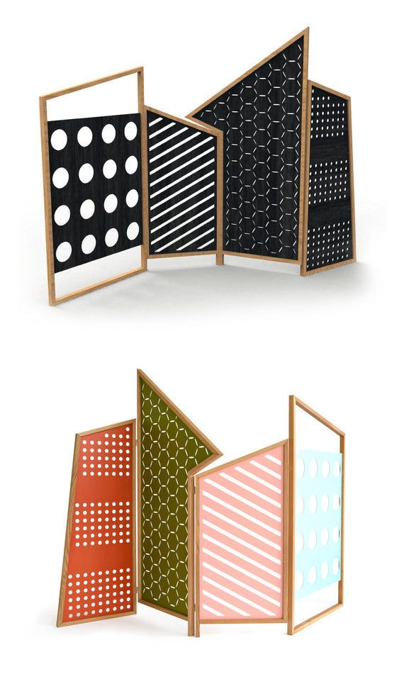 Steffen Kaz and Catharina Lorenz Opto Room Divider