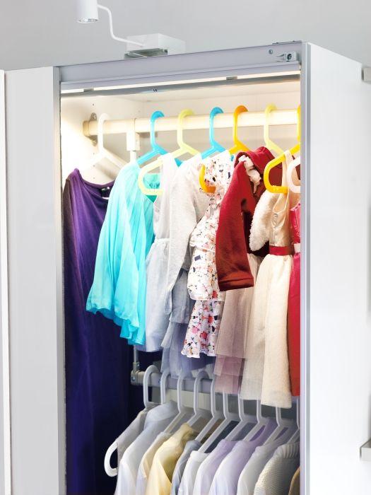 Bagis children 39 s coat hanger assorted colors children for Ikea kids coat hangers