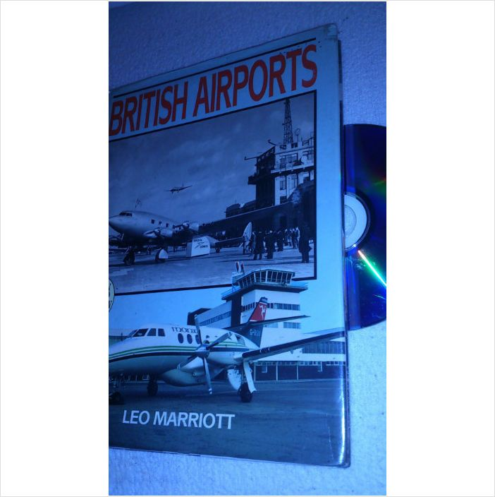 London Airport book BRITISH AIRPORTS Then