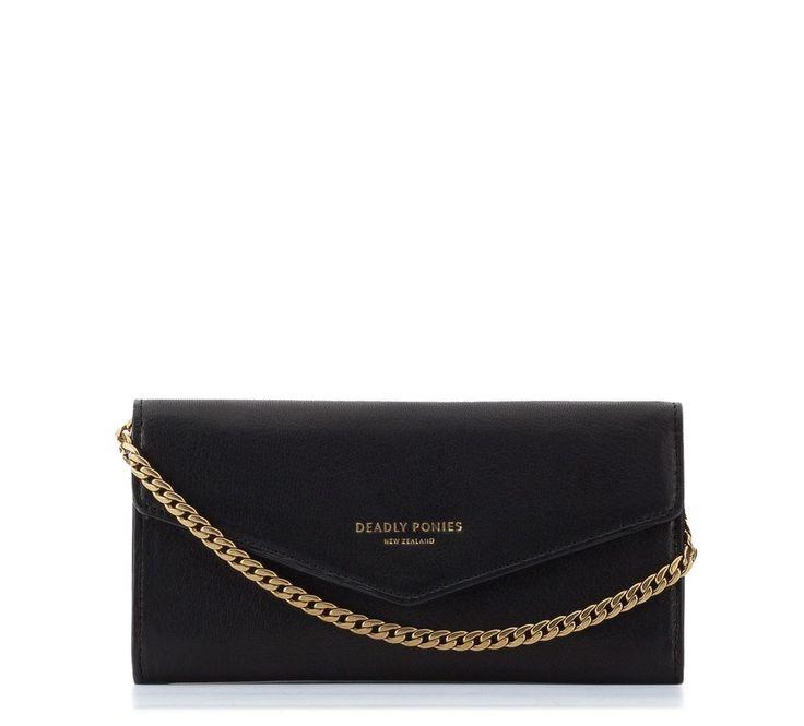 Lady Wallet Black