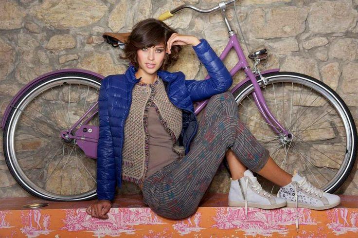 maglia tulle+ pantalone + giacchino melange + piumino 100 gr.
