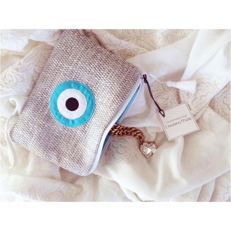 Σας ευχαριστούμε πολύ για την στήριξη και την εμπιστοσύνη  σας... 4000 likes σας στη σελίδα μας στο Facebook  βοηθάνε κάθε  handmade bag Christina Malle  να δημιουργείται με  περισσότερη αγάπη για εσάς! (For requests send an inbox message or call +30 694 790 0161)  #thankyou#likes#ss2015#collection#fashion#evileye#mini#clutch #bag#summer#crafts#handmade#christinamalle_bags#Greece#madeingreece#greekdesigners#accessories#summeringreece#evileyeproject#summeringreece#sales#evileyeproject