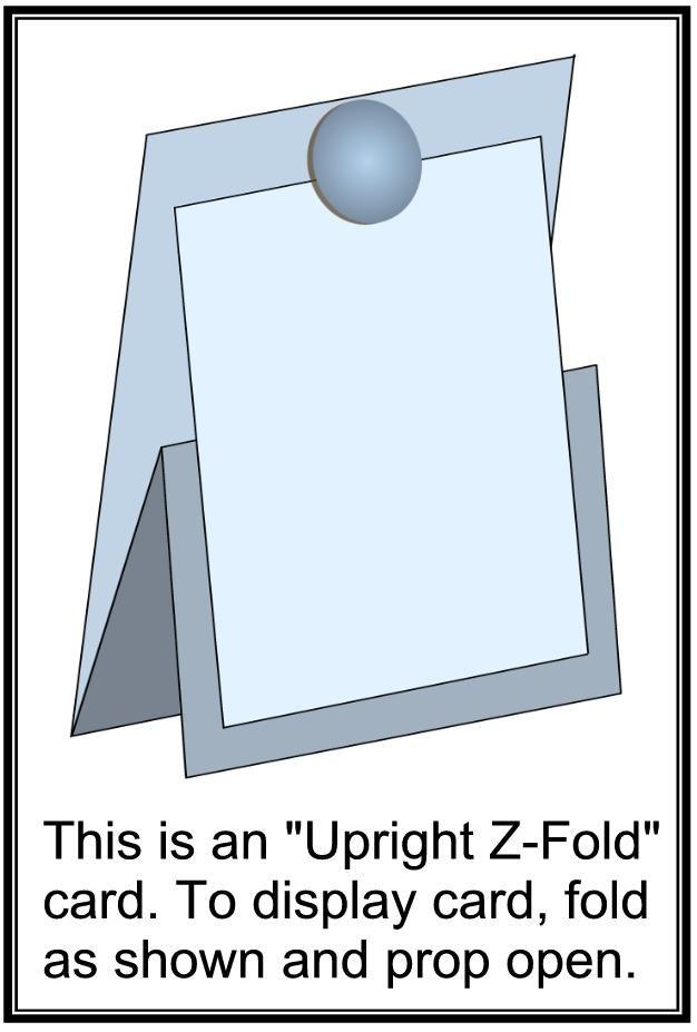 Ik zag ze op Pinterest eneen aantal van jullie blogs al langs komen, de nieuwe (of andere) versie van easel cards: Z-fold cards . Ik ben ...