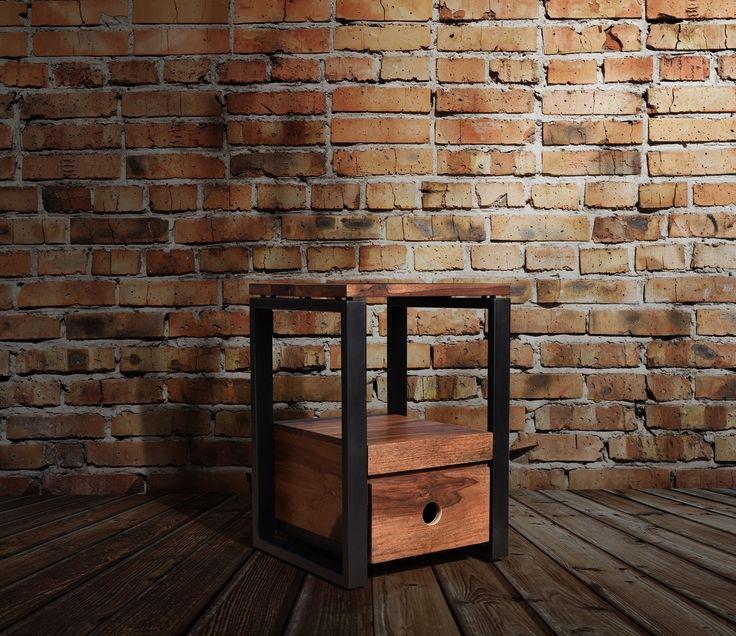 Designer Sengebord i Rosentræ - http://indieliving.dk/shop/hayfay-sengebord-sidebord-430p.html