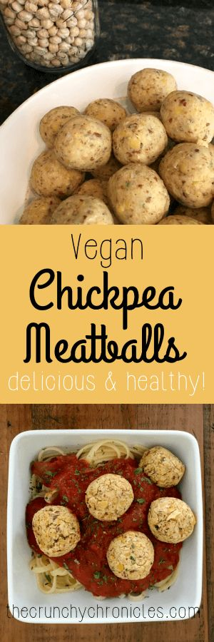 Vegan Chickpea Meatball recipe - a delicious and healthy alternative. Throw into…