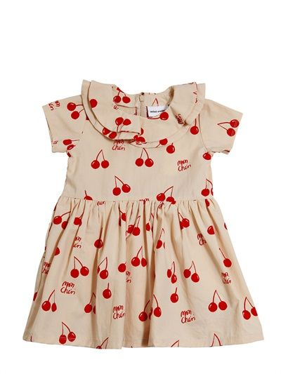 little girl cherries dress - Min iRodini