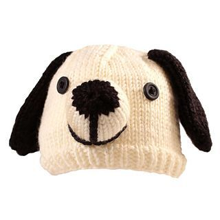 """This Newborn Puppy hat is knitted with the Magic Loop method of knitting on 36"""" or longer #7 circular needles. Easy-to-follow instructions for Magic Loop are included."""