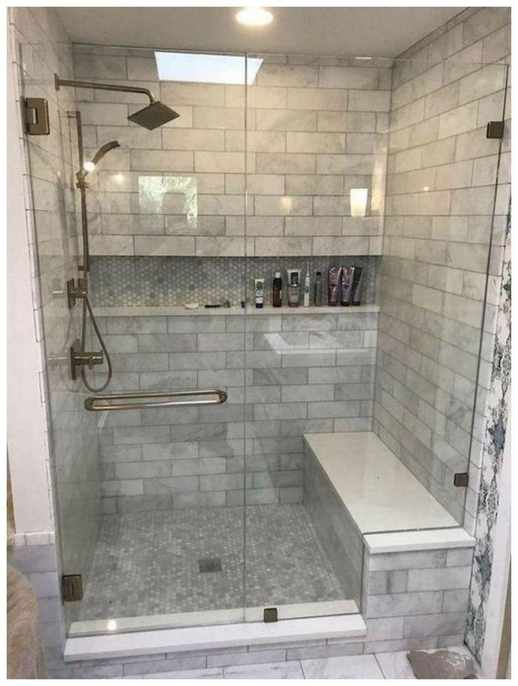 54 Cozy Farmhouse Master Bathroom Remodel Ideas That You See 46 In 2020 Small Bathroom Remodel Small Master Bathroom Farmhouse Master Bathroom