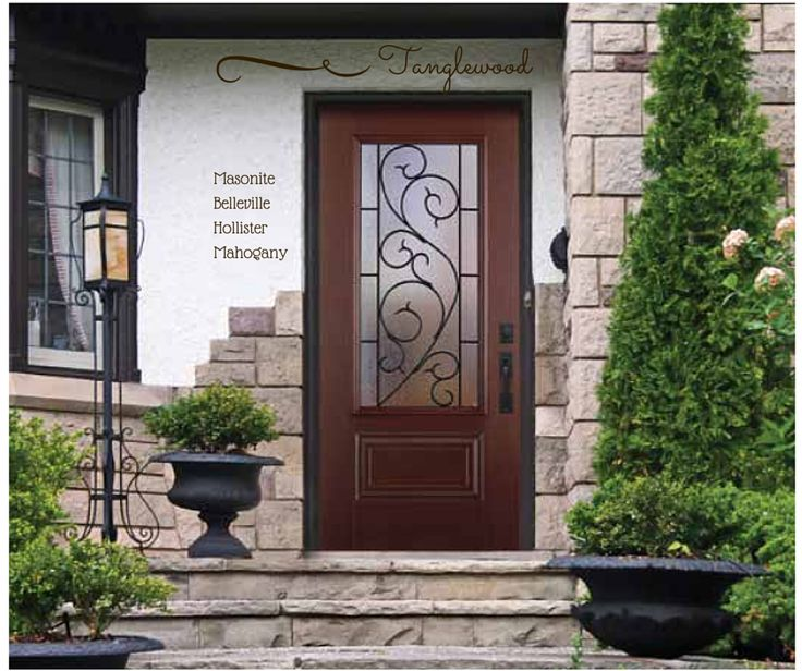 22 best images about masonite exterior doors on pinterest for Belleville fiberglass doors