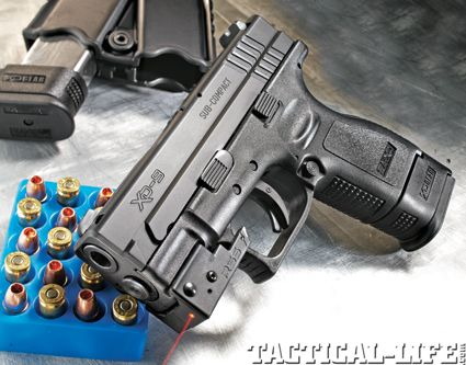 SPRINGFIELD XD SUB-COMPACT 9mm really nice gun the XD2 has interchangable grips
