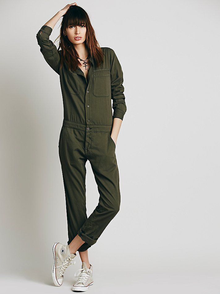Free People Mechanic Jumpsuit, £350.00