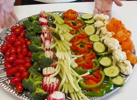 relish tray ideas | Vegetable Relish Tray for Fourth of July Dinner Recipe Video by ...