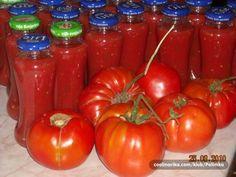 Ovako ja spremam mleveni paradaiz za zimu, jako dobro stoji u flašicama od 2dcl.
