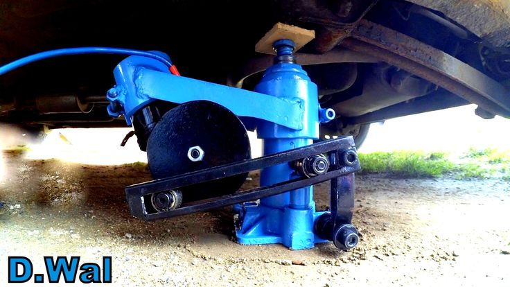 How to Make Electric Hydraulic Car Jack