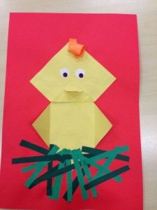 easy origami chick