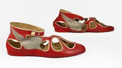 Swimming shoes 1920's