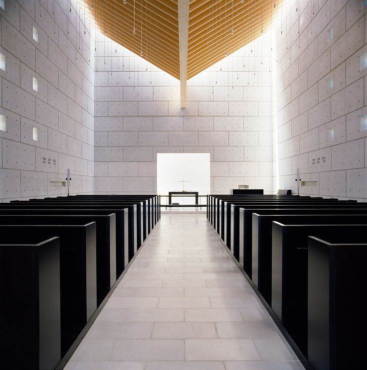 Inside Enghøj Church near Randers, Denmark. Photo by Jens Lindhe