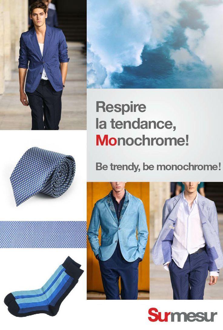 Monochrome!  Be monochrome!