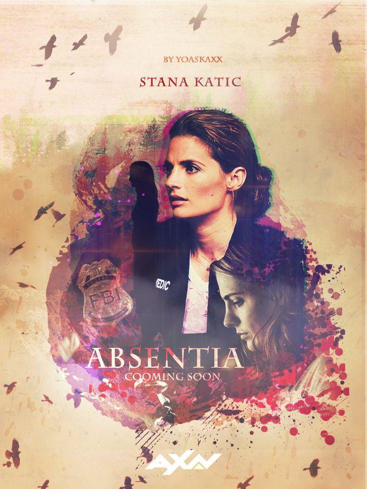 Absentia || Stana Katic || Poster 2 by yoaskaxx.deviantart.com on @DeviantArt