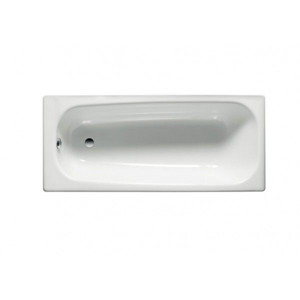 Ванна стальная Roca Contesa 150х70 белая + ножки