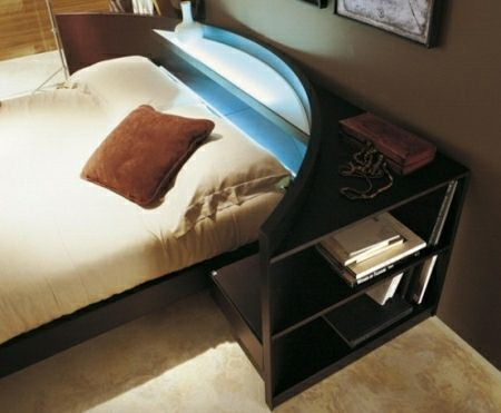 Simple Contemporary Italian Beds by Fimes