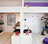 Raumteiler Kinderzimmer-Ideen für eine praktische Raumtrennung!Ein Kinderzimmer zu gestalten,welches von zwei Kindern geteilt wird,ist keine einfache Sache.
