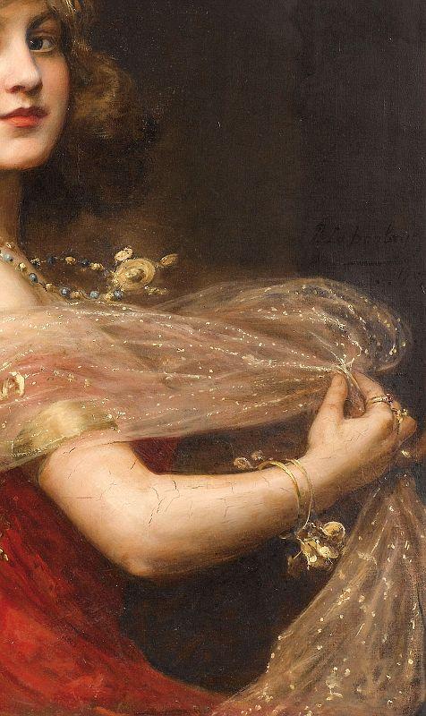 Salomé, Paul Antoine de La Boulaye. (1849 – 1926, detail