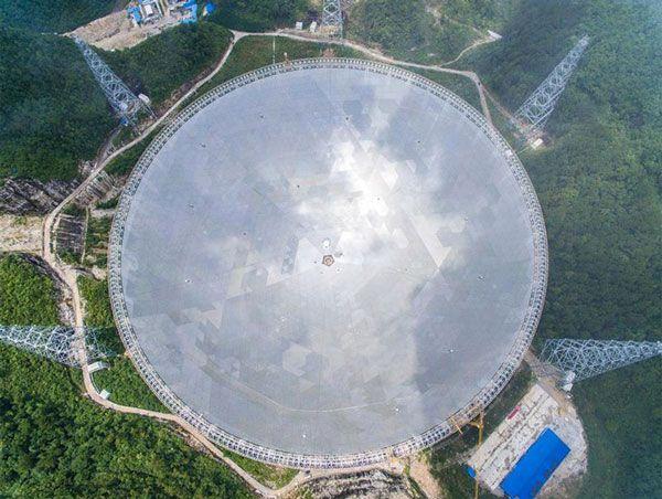 Οι Κινέζοι είναι πανέτοιμοι να βάλουν σε λειτουργία στις 25  Σεπτεμβρίου το μεγαλύτερο τηλεσκόπιο στον κόσμο εν ονόματι Aperture  Spherical...