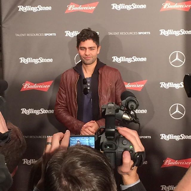 Former cover star @AdrianGrenier of #Entourage at @rollingstone red carpet at the MFA pre-Super Bowl festivities. ... #superbowlparty #superbowlparties #superbowl2017 #mercedesbenz #superbowlhouston #adriengrenier  via MODERN LUXURY MAGAZINE OFFICIAL INSTAGRAM - Luxury  Lifestyle  Culture  Travel  Tech  Gadgets  Jewelry  Cars  Gaming  Entertainment  Fitness