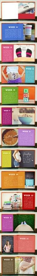 pregnancy journal book!