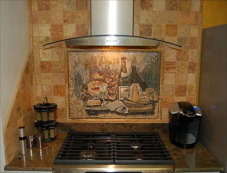 Mosaic Kitchen Backsplash