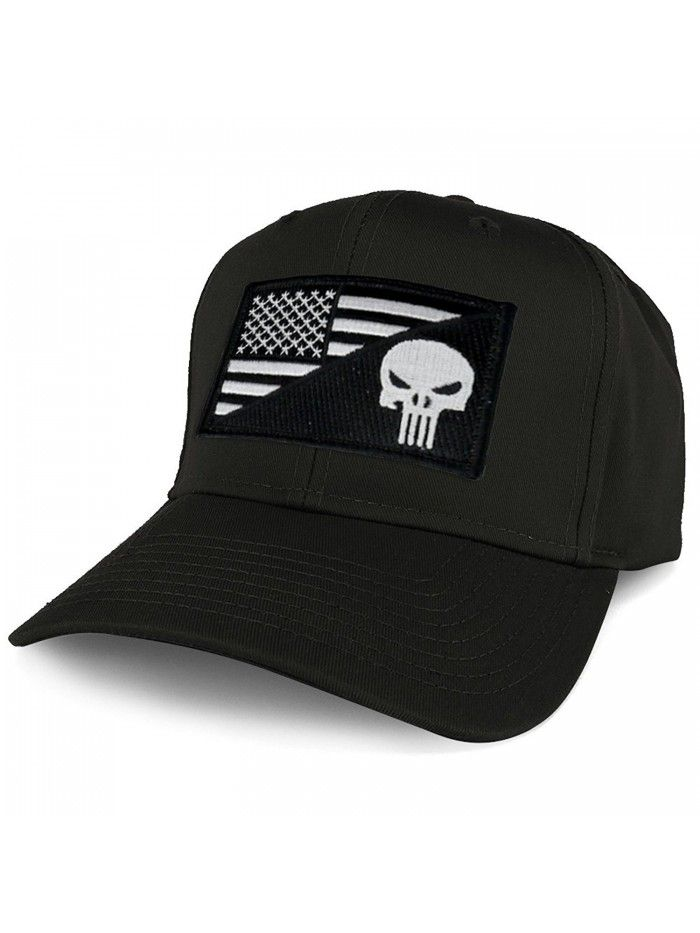 Xxl Oversize Black White Punisher Usa Flag Patch Solid Baseball Cap Black C21804lreli Mens Hats Fashion Baseball Cap Hats For Men