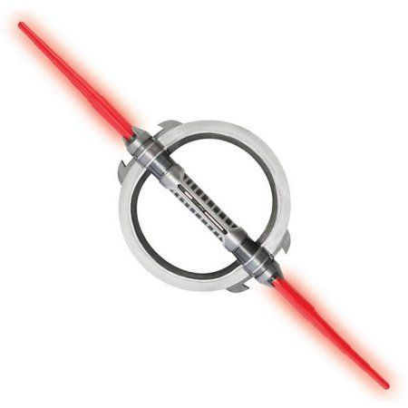 Star Wars Rebels Inquisitor Double Lightsaber Halloween Accessory, One Size, Multicolor
