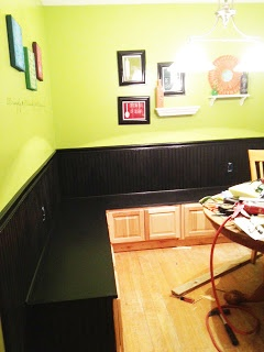 Second Chance to Dream: Banquette Seating Part 1-How to Make a Homemade Banquette Seating!! and Table