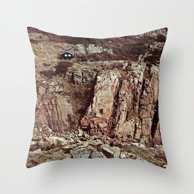 CLIMBER Throw Pillow by lilla värsting - $20.00