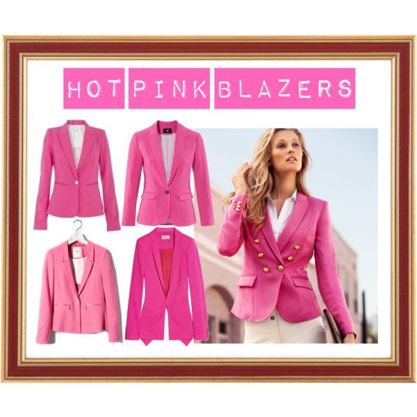 Hot Pink Blazers