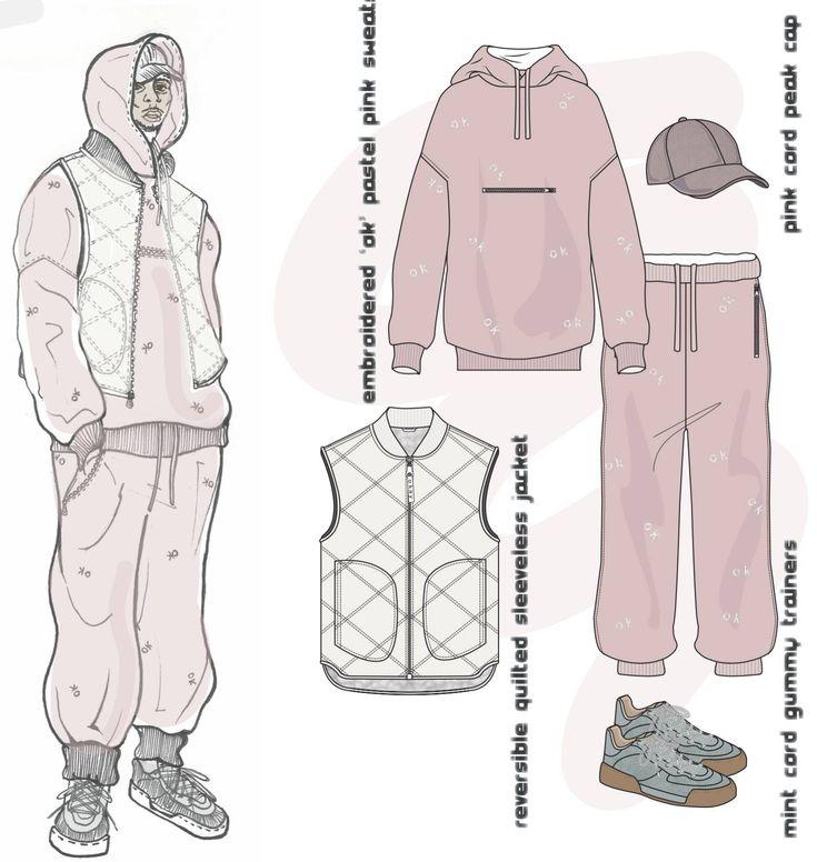Fashion Sketchbook - fashion illustrations; fashion drawings; fashion portfolio // Emily Beesley