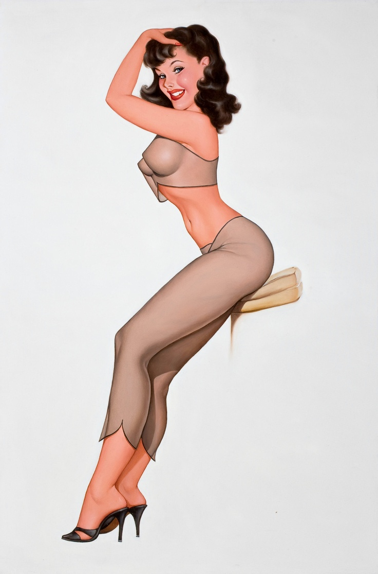 Pin up girl sexy woman
