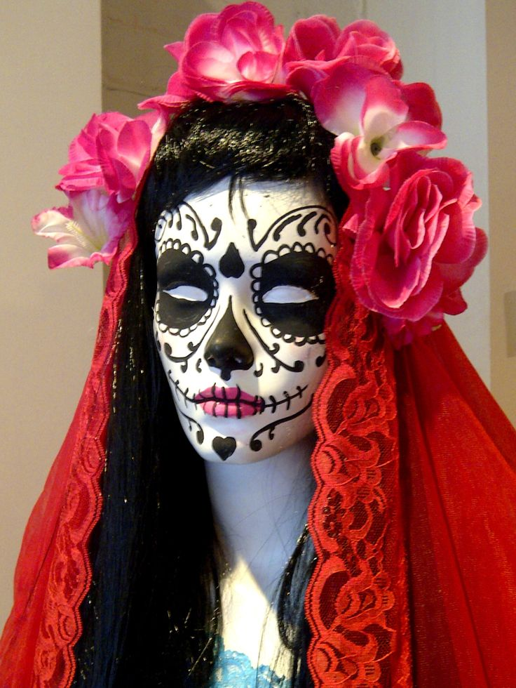 dia de los muertos - Halloween Day Of The Dead Face Paint
