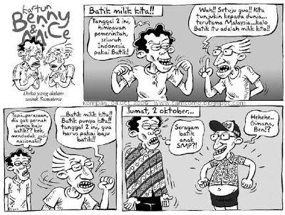 Kartun Benny & Mice: #Batik Milik Kita