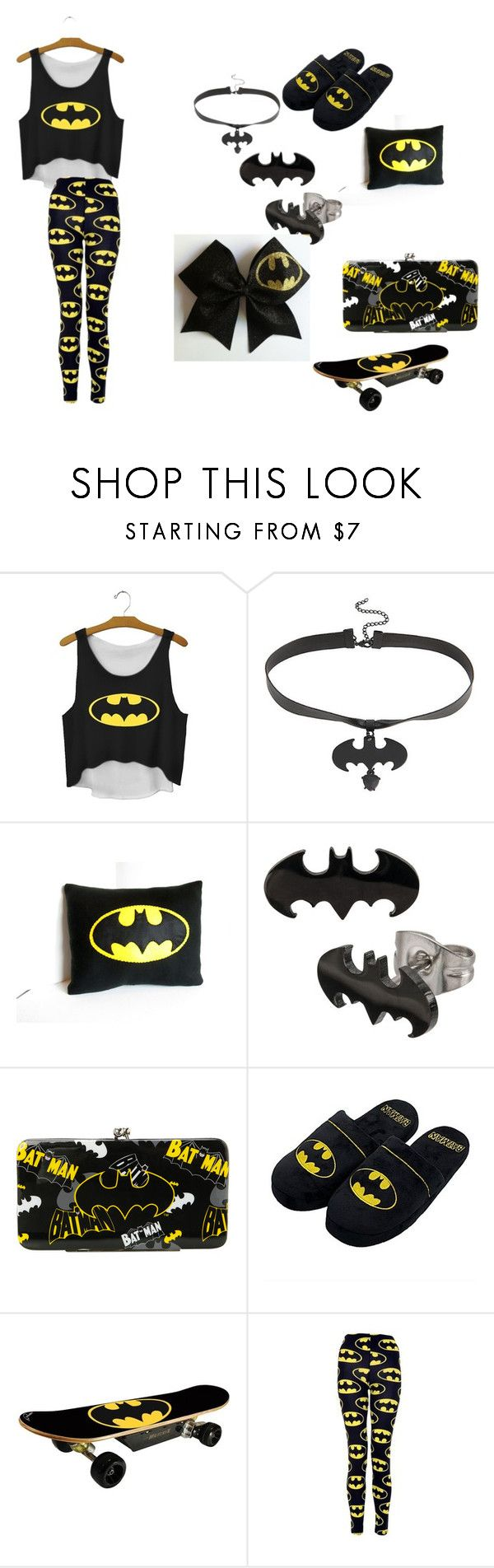 """Batman"" by allybarnett1616 on Polyvore featuring women's clothing, women, female, woman, misses and juniors"