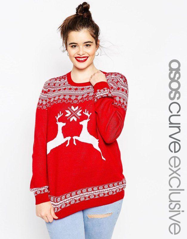 75 best Women's Christmas Jumpers 2015 images on Pinterest   Asos ...