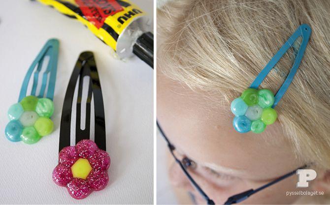 Mer smälta pärlor / More melted beads - Pysselbolaget - Enkla roliga pyssel för barn och vuxna