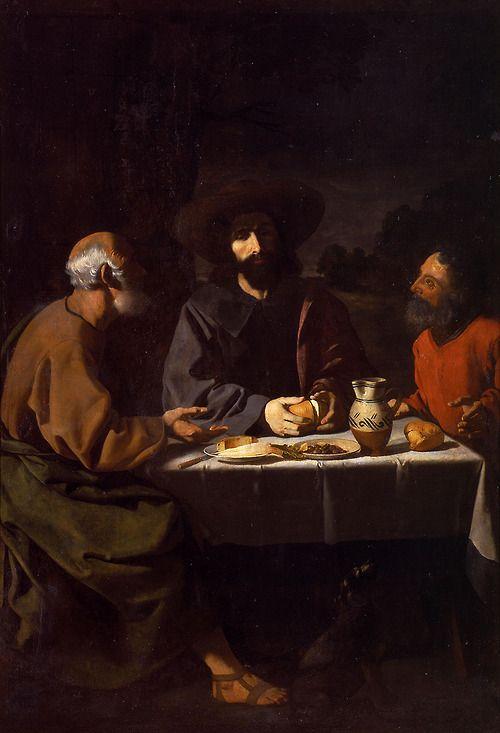 Francisco de Zurbarán  The Supper at Emmaus, 1639  Museo Nacional de San Carlos, Mexico City
