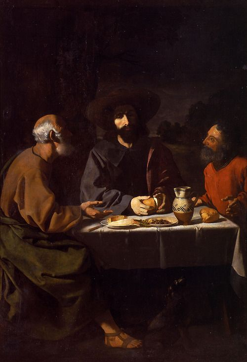 Francisco de Zurbarán  The Supper at Emmaus, 1639  Museo Nacional de San Carlos, Mexico City