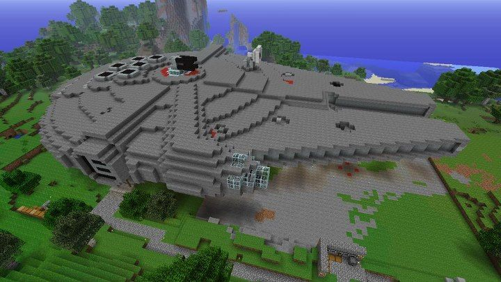 Fine Biggest House In The World Minecraft N And Decorating Ideas